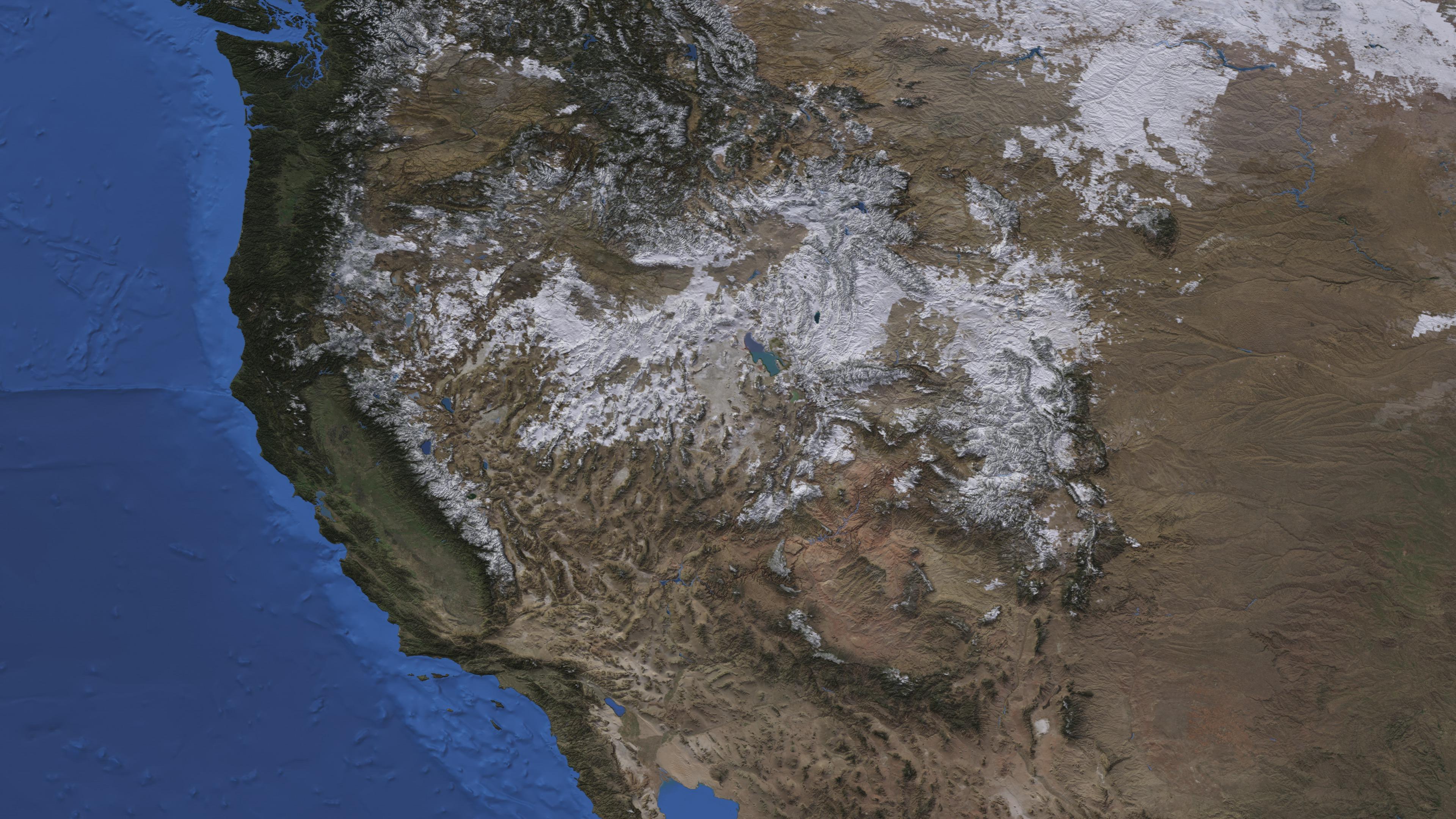 SVS North America Snow Cover - Snow cover map usa