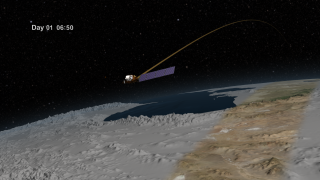 Link to Related Story entitled: Landsat Data Continuity Mission (LDCM) Orbits