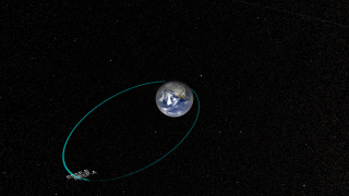 Link to Recent Story entitled: The Van Allen Probes (formerly RBSP for Radiation Belt Storm Probes) in Earth Orbit
