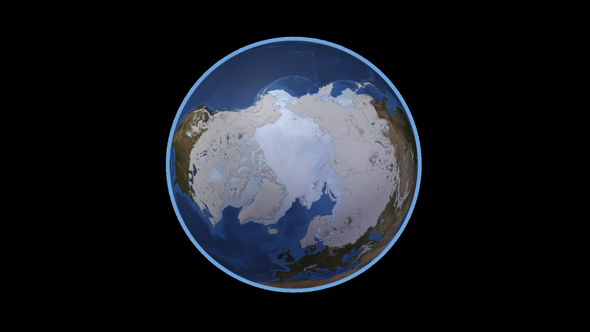 NASA Earth North Pole (page 2) - Pics about space