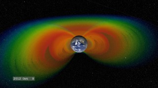 Link to Recent Story entitled: Earth's Radiation Belts (cross-section)