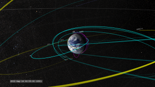 Link to Recent Story entitled: The 2012 Earth-Orbiting Heliophysics Fleet