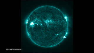 Link to Recent Story entitled: The Active Sun from SDO: 131 Ångstroms