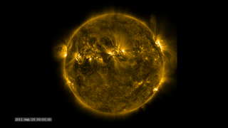 Link to Recent Story entitled: The Active Sun from SDO: 171 Ångstroms