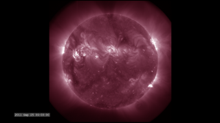 Link to Recent Story entitled: The Active Sun from SDO: 211 Ångstroms