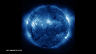 Link to Recent Story entitled: The Active Sun from SDO: 335 Ångstroms
