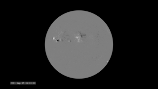 Link to Recent Story entitled: The Active Sun from SDO: HMI Magnetogram