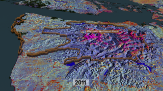 Link to Recent Story entitled: Life Histories from Landsat: 25 Years in the Pacific Northwest Forest — North/South Tour