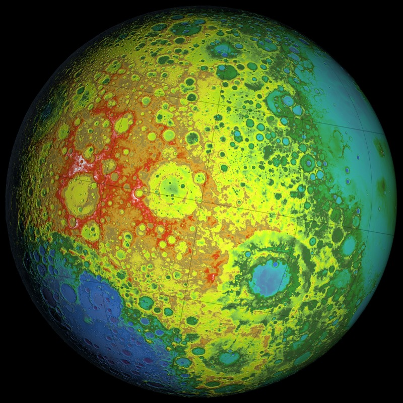 SVS GRAIL Primary Mission Gravity Maps AGU 2012
