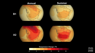 Link to Related Story entitled: National Climate Assessment: 21st Century Temperature Scenarios