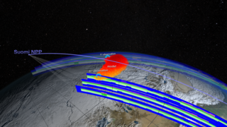 Link to Recent Story entitled: Chelyabinsk Bolide Plume as seen by NPP and NASA Models