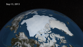 The complete animation of the daily AMSR2 sea ice from May 16 through September 13, 2013.