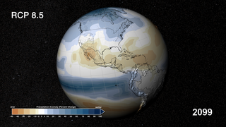 Link to Recent Story entitled: CMIP5: 21st Century Temperature and Precipitation Scenarios