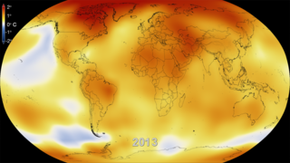 Link to Related Story entitled: Five-Year Global Temperature Anomalies from 1880 to 2013