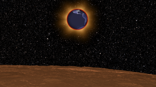 Link to Related Story entitled: Lunar Eclipse of April 15, 2014 As Viewed from the Moon
