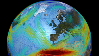 Link to Related Story entitled: European Jet Stream