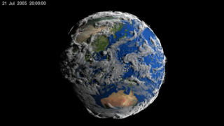 Link to Recent Story entitled: Volume-Rendered Global Atmospheric Model