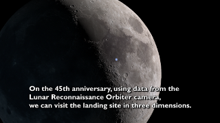 Link to Recent Story entitled: A New Look at the Apollo 11 Landing Site