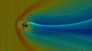Link to Recent Story entitled: Comparative Magnetospheres: A Noteworthy Coronal Mass Ejection
