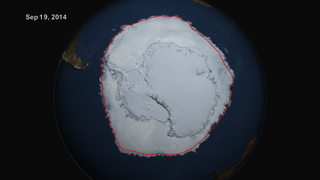 Link to Recent Story entitled: Maximum Antarctic Sea Ice 2014
