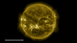 Link to Recent Story entitled: October X-flare from Solar Dynamics Observatory