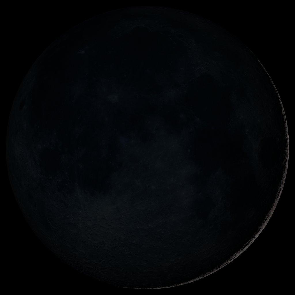 New Moon (10:33 MST).