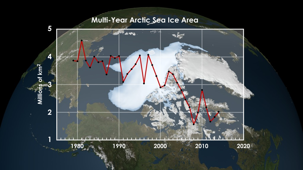 SVS: Multi-year Arctic Sea Ice 2014