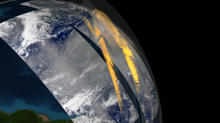 Link to Recent Story entitled: CALIPSO observes Saharan dust crossing the Atlantic Ocean
