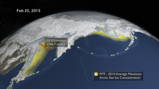 Link to Recent Story entitled: Arctic Sea Ice Maximum - 2015