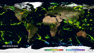 Link to Recent Story entitled: Near Real-Time Global Precipitation from the Global Precipitation Measurement Constellation