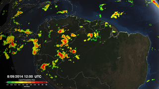Link to Recent Story entitled: IMERG Precipitation Rates Pulsing Over the Amazon