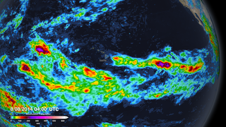 Link to Recent Story entitled: IMERG Accumulated Precipitation of Three Hurricanes Threatening Hawaii