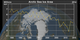 This animation shows the annual Arctic sea ice  minimum with a graph overlay that depicts the area of the sea ice in millions of square kilometers.