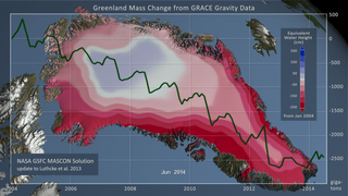 Link to Recent Story entitled: NASA GSFC MASCON Solution over Greenland from Jan 2004 - Jun 2014