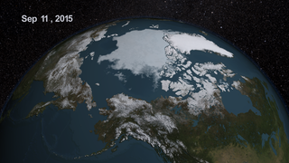 Link to Recent Story entitled: AMSR2 2015 Minimum Arctic Sea Ice Extent