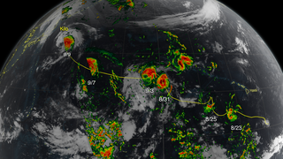 Link to Recent Story entitled: Tracking Kilo from Hurricane to Typhoon