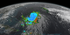 Animation of Tropical Storm Joaquin on September 29, 2015  right before it intensified into a hurricane. The camera moves in on the storm, and the visualization concludes with a 360 degree view around the storm.
