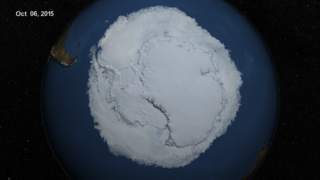 Link to Recent Story entitled: Maximum Antarctic Sea Ice 2015