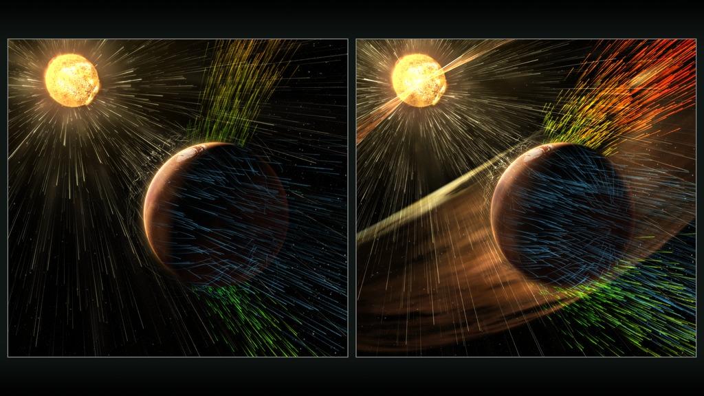 Porque Marte perdió la atmosfera ?