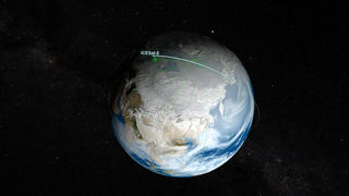 Link to Related Story entitled: ICESat-2 Orbit