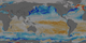 This animation shows the ocean surface CO 2  flux between 1/1/2009 and 12/31/2010.   Blue colors indicate uptake and orange-red colors indicate outgassing of ocean carbon.  The pathlines indicate surface wind stress.
