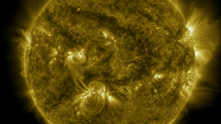 Link to Related Story entitled: SDO Year 6: A Year of the Sun