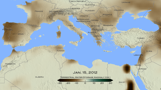 Link to Recent Story entitled: 2012 Mediterranean Drought