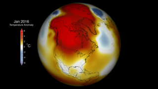 Link to Recent Story entitled: Global Temperature Anomalies from January 2016