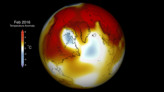 Link to Recent Story entitled: Global Temperature Anomalies from February 2016
