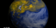 There are two images showing surface ozone over Asia and the North Pacific on June 2 and June 5, 2013.