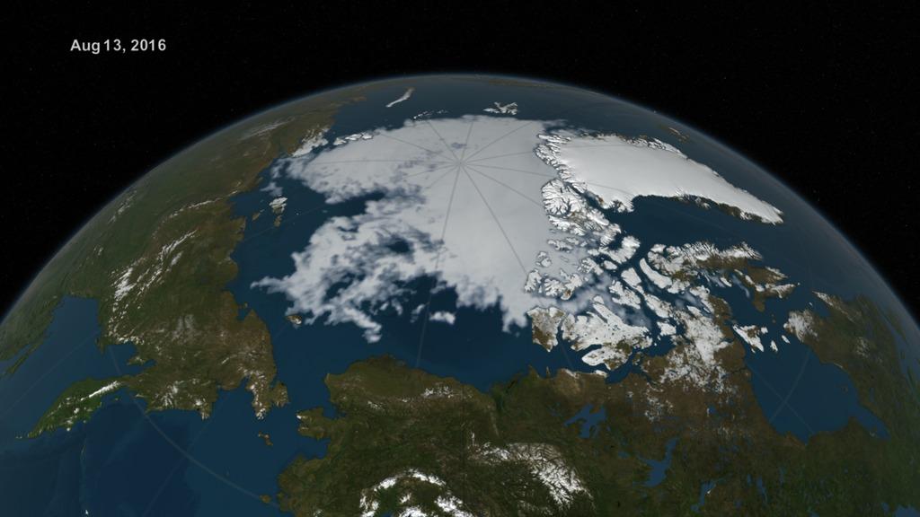 polar ice cap nasa - photo #41