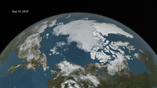 Link to Recent Story entitled: Arctic Sea Ice from March to September 2016