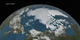 In this animation, the Earth rotates slowly as the Arctic sea ice advances over time from March 24, 2016 to September 10, 2016, when the sea ice reached its annual minimum extent.  The 2016 Arctic minimum sea ice extent is the second lowest minimum extent on the satellite record.