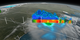 This visualization begins with an overview of the United States showing the clouds and rainfall accumulation of the massive rain event over Louisiana beginning on August 11th, 2016 through August 13th, 2016. The camera then begins to zoom in as time resets to August 11th. Time then slows way down on August 12th to show the first of GPM's passes. In this close up of GPM's volumetric DPR data over Louisiana, a cutting plane materializes into view to show the inner structure of this giant storm system. From this view, one can clearly see the heavy amounts of rain in the center of the storm (depicted in yellow, orange, and red). The GPM data then dissolves away as time speeds up before slowing down again later on that same day. This time GPM captures a much larger swath of the storm. Dissolving in the cutting plane again reveals huge amounts of rainfall at this later time.  As the GPM data dissolves away again, time speeds back up to show the rest of the rainfall accumulation partway through August 13. At this time, a large portion of Louisiana can be seen completely saturated with rainfall accumulations (depicted in shades of orange to red).